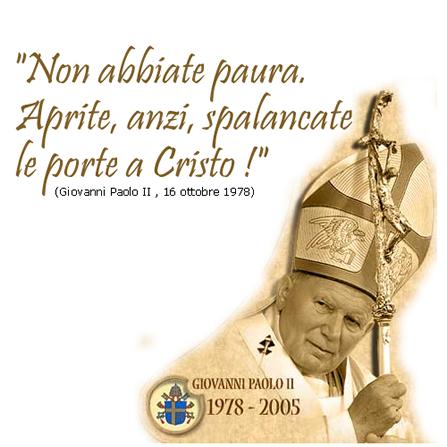 Frasi celebrity di papa giovanni paolo ii nella