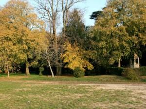 Villa Maffei, il Parco